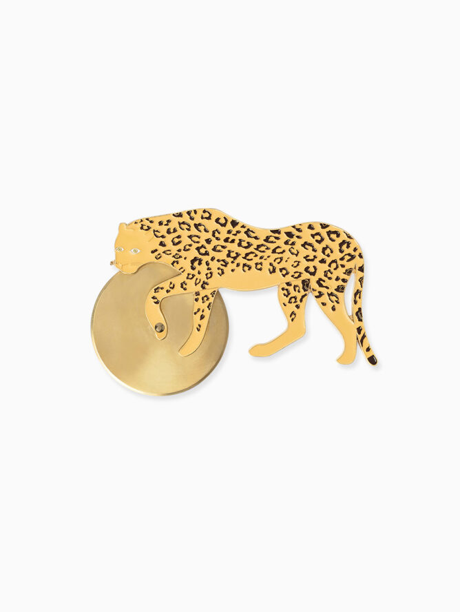 Savanna Cheetah Pizza Cutter – DOIY