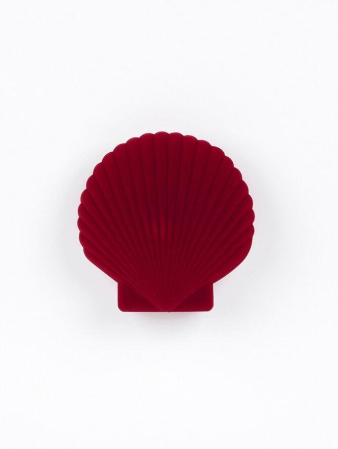 Shell Jewerly Box Red – DOIY